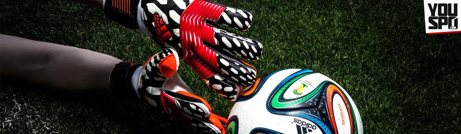 Die Adidas WM 2014 Torwarthandschuhe Predator Zones Pro Battle Pack