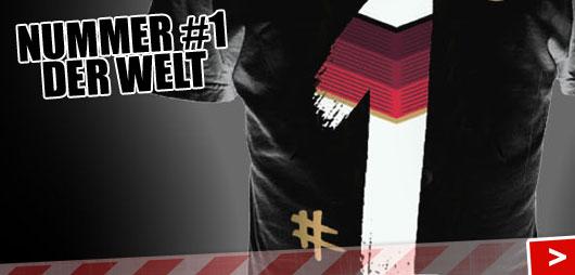 Adidas Deutschland T-Shirt #1 als Fanartikel der Nationalmannschaft