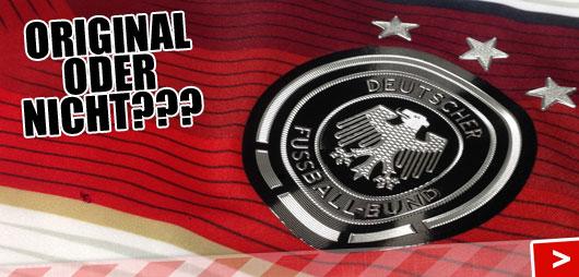 Adidas DFB Trikot und Trikot Fälschung unterscheiden