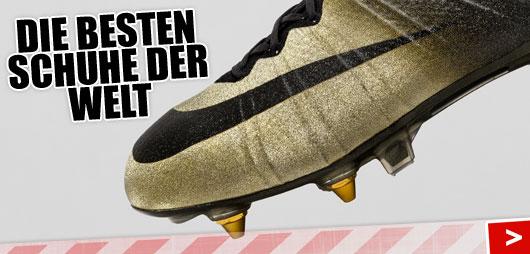 Die besten Fußballschuhe der Welt sind die....