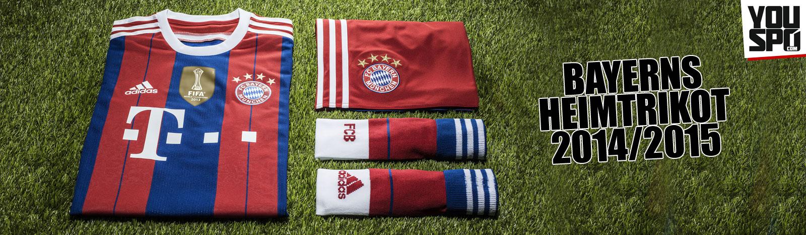 FC Bayern München Heimtrikot 2014/2015