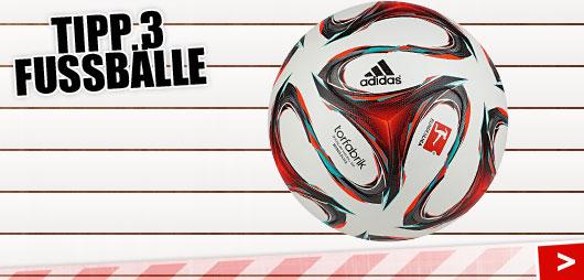 Fubälle der Geschenk Tipp 3 für Fußballer