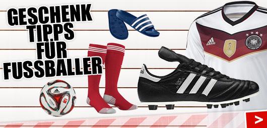 Die Geschenk Tipps für Fußballer