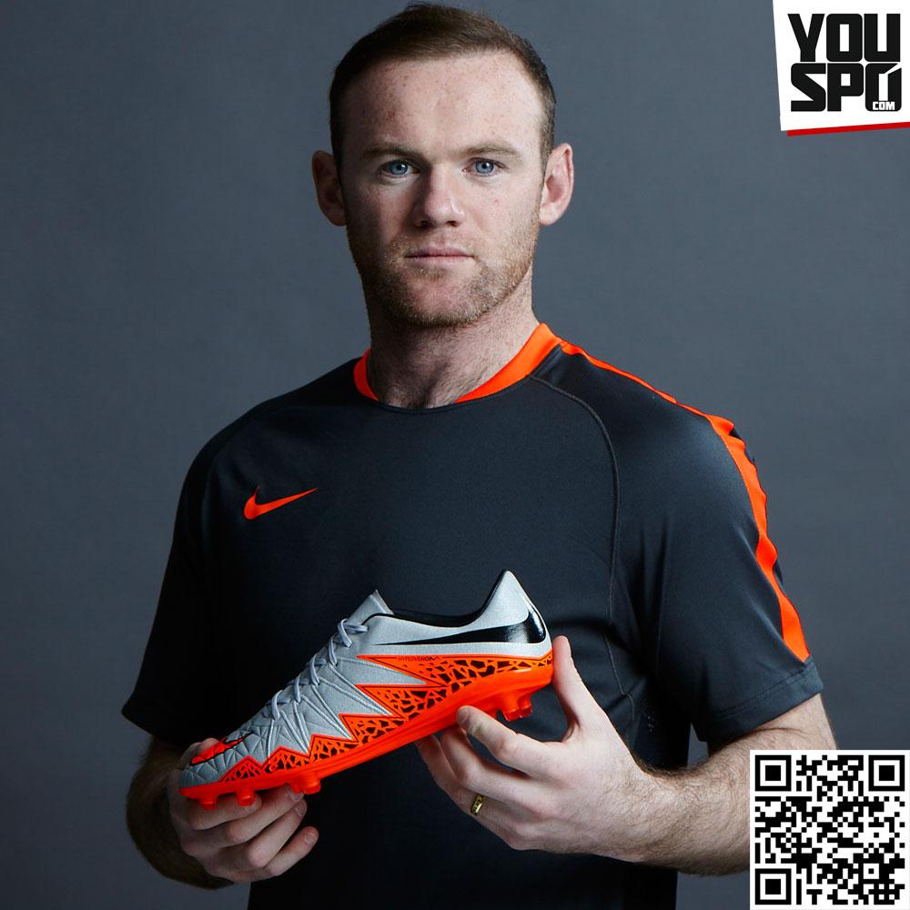 Nike Hypervenom Phantom II Rooney