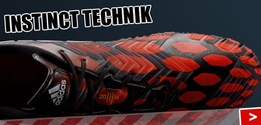 Adidas Predator Instinct technik der Fußballschuhe