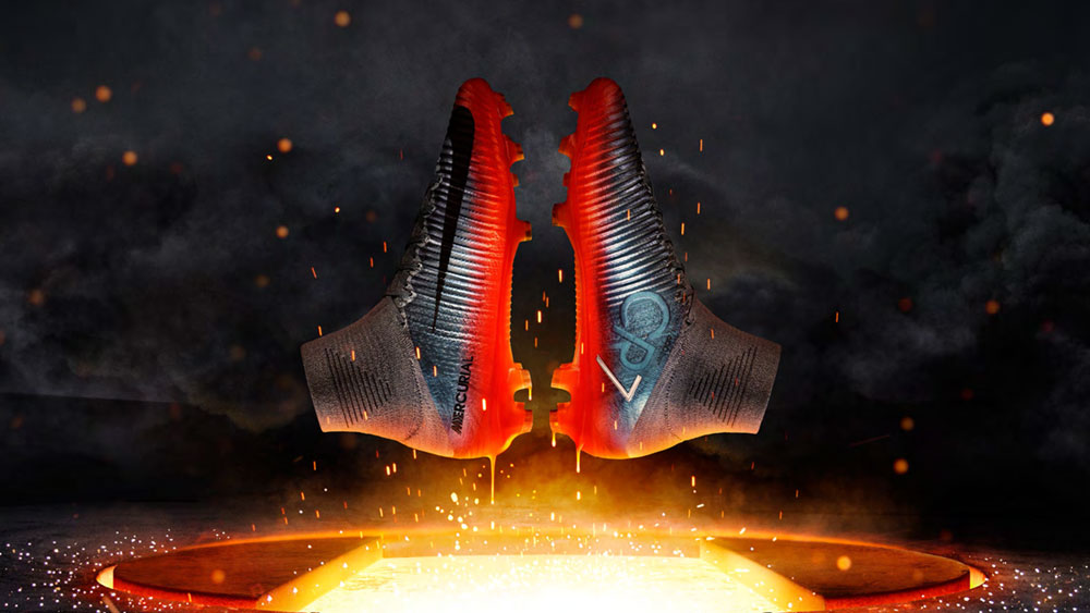 Nike Mercurial CR7 Nummer 7 Schuhe