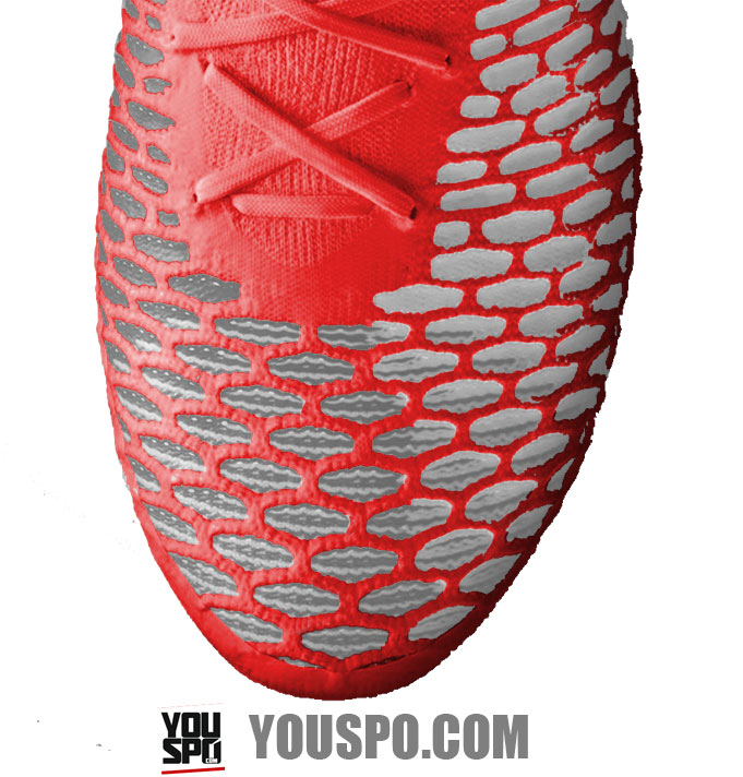 Nikeskin Material im Nike Hypervenom