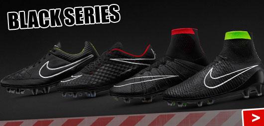 Nike Fußballschuhe in komplett schwarz