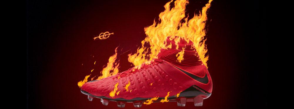 Nike Hypervenom Phantom III und Phantom III DF Fire and Ice Fußballschuhe