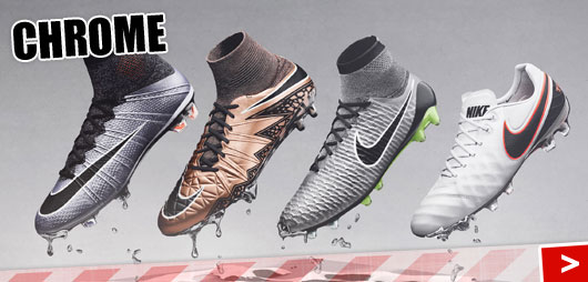 Nike Liquid Chrome Pack Mercurial, Magista, Hypervenom