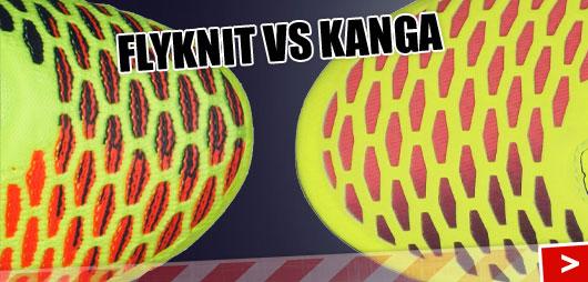 Nike Magista Obra (Flyknit) und Opus (Kanga)