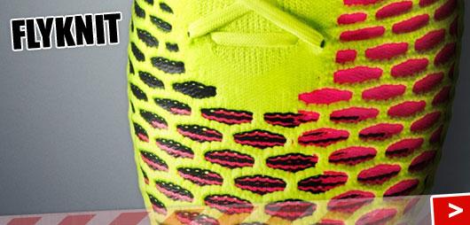 Flyknit im Nike Magista