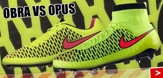 Nike Magista Obra und Opus im Vergleicht der Fußballschuhe