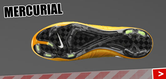 Nike Mercurial Vapor und Victory mit Vapor Traktionsmuster