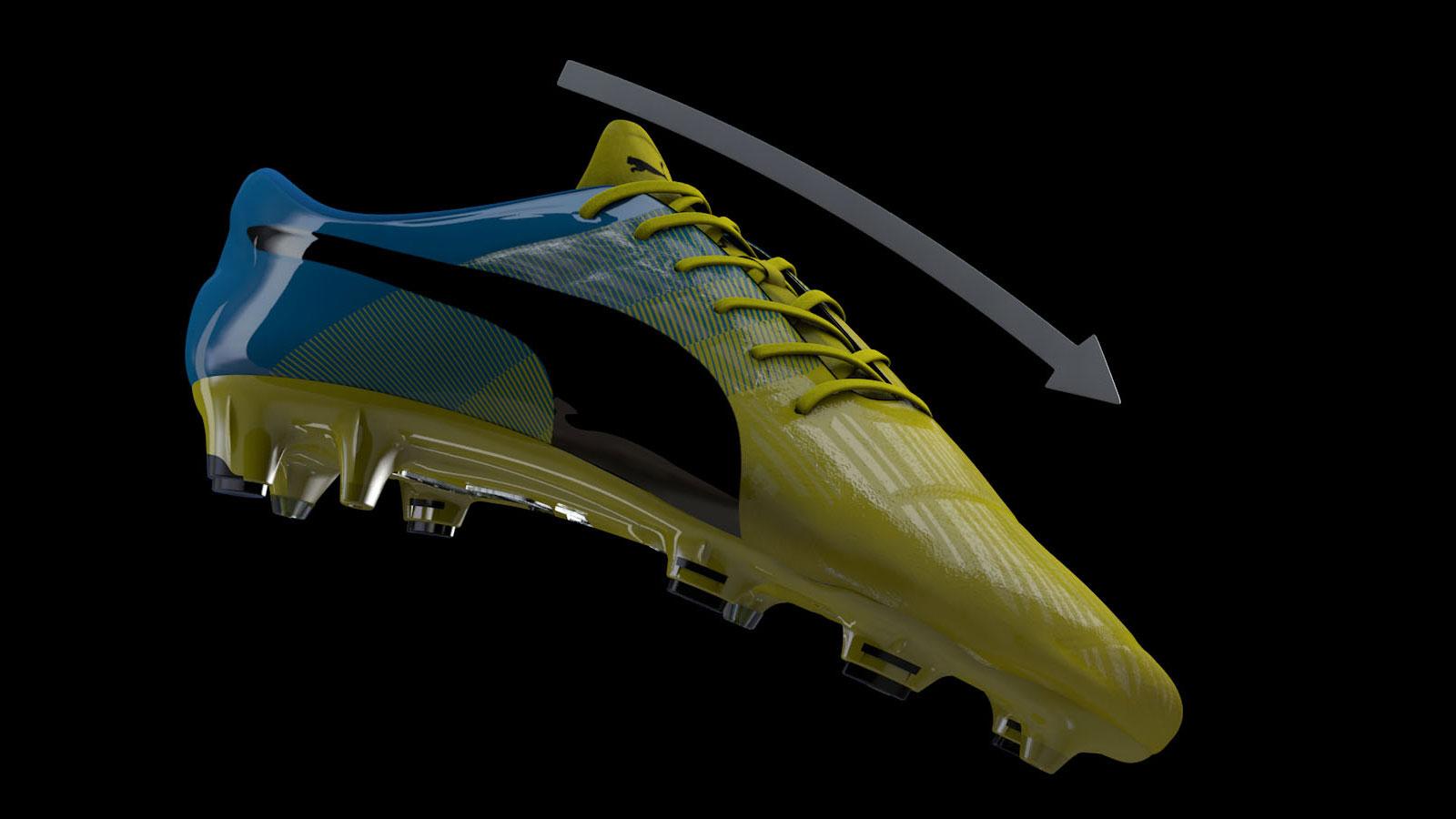 Puma evoPower 1.3 GSF Sohle der Schuhe