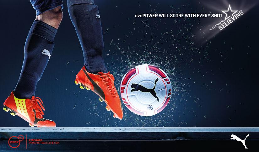 Puma evoPower 1 FG für die Extension des Fußes