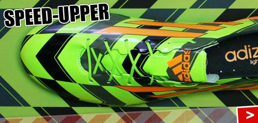 Adidas F50 adizero Speed-Upper im Crazylight