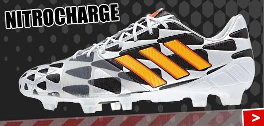 Adidas Nitrocharge 1.0 Fußballschuhe aus dem Battle Pack der WM 2014