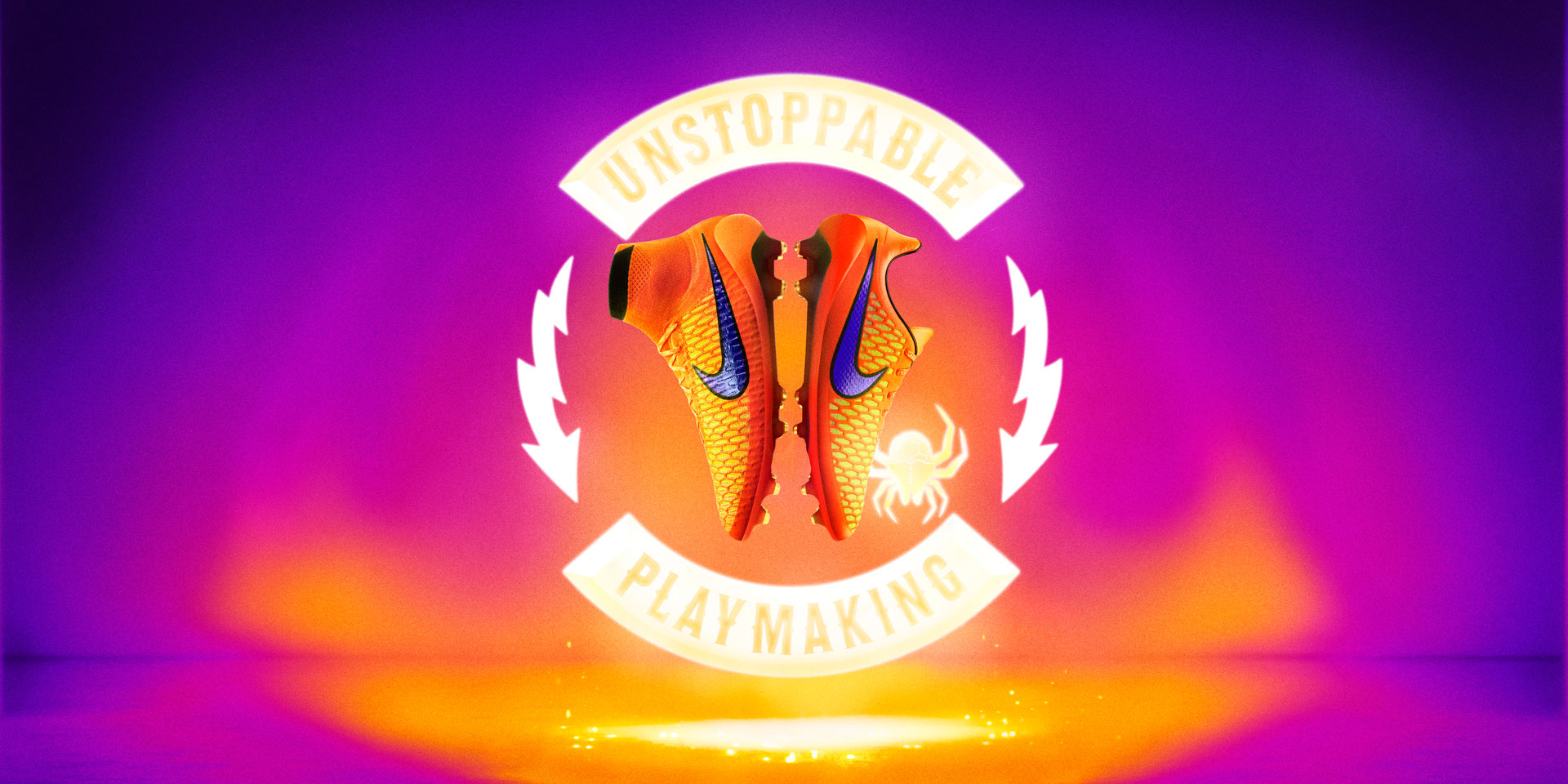Nike Magista Opus  Intense Heat Pack total orange