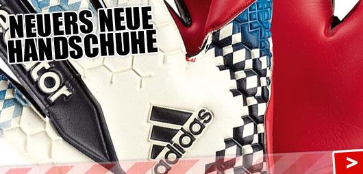 Manuel Neuer Torwarthandschuhe Adidas Predator Pro rot